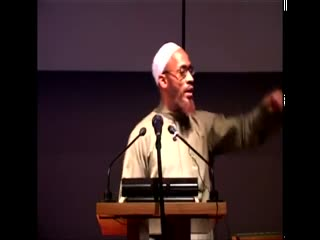 Khalid Yasin Lecture - We Must Deliver the Message (Part 1_2)
