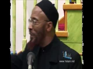 Khalid Yasin lecture - Malcolm X