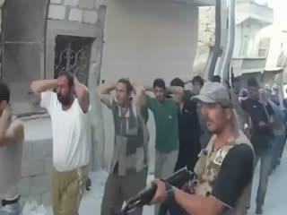 اسارت تعداد زیادی از شبیحة (سوریه)