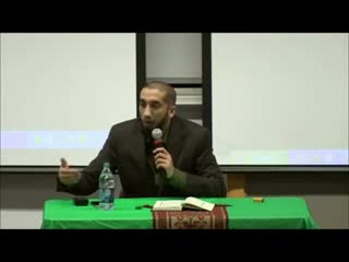 ''Allah is Near, Very Near ''Nouman Ali Khan