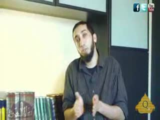 Avoid Foul Gatherings - Nouman Ali Khan