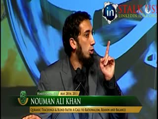 Quranic Teachings vs Blind Faith, Noman Ali Khan