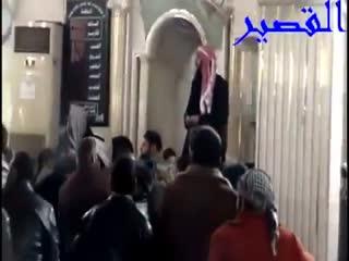 بمباران خانه خدا در حمص هنگام اقامه نماز