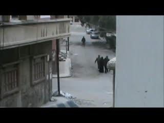 حمله نیروهای اسد به زنان در شهر حمص سوریه