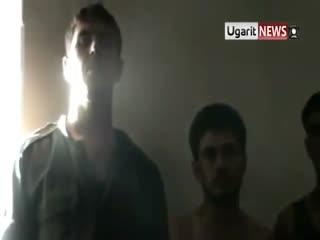 اسارت نیروهایی از ارتش اسد به دست ارتش آزاد سوریه