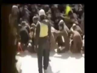 رفتار نیروهای مالکی با اسرای اهل سنت در زندان ابو غریب