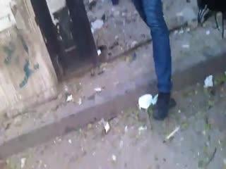بمباران اردوگاه فلسطینیان در دمشق توسط نیروهای بشار