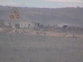 موشکی که راه میرود و می جهد تا تانک نظامیان اسد را منفجر کند!