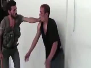 شکنجه جوانی معلول به دست ارتش اسد