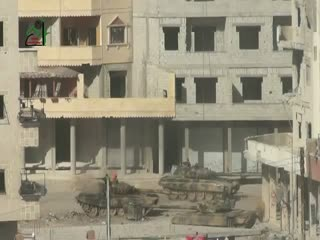 منفجر کردن تانکها در داریا