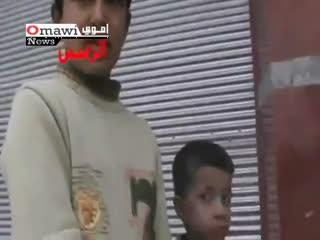وضع اطفال در سرمای سوریه