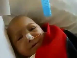 طفلی تونسی که قبل از وفاتش پروردگارش را می خواند