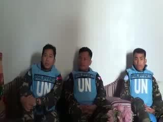 اسارت نیروهای سازمان ملل در سوریه در حین همکاری با نظام بشار