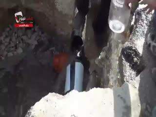 مصائب دستیابی به آب در حلب