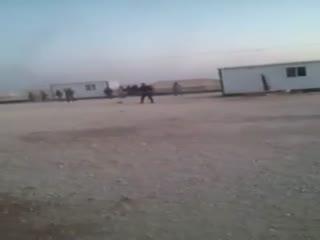 هجوم نیروهای نظامی اردن به خیمه های الزعتری پناهندگان سوری!